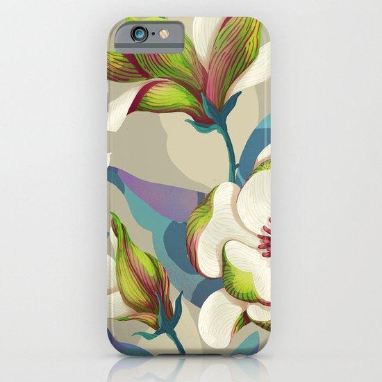 magnolia bloom - vivid version iPhone & iPod Case