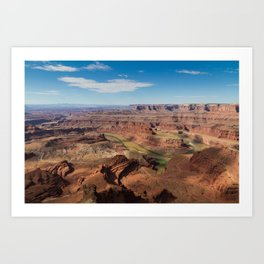 Colorado Below Art Print