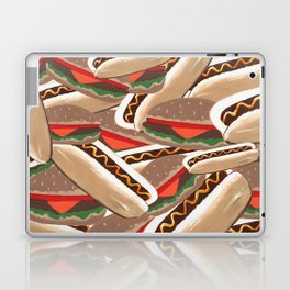 Hot Dogs And Hamburgers Laptop & iPad Skin