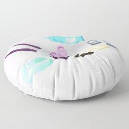Makeup Bag Floor Pillow