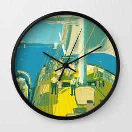 Kazusa Beach Wall Clock