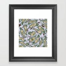 Turbulence in MTL01 Framed Art Print
