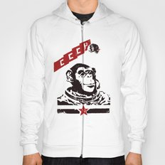 Soviet Space Monkey Hoody