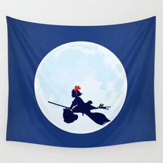 Kiki's Delivery Service Poster Wall Tapestry