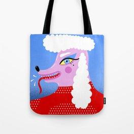 Rebel Poodle Tote Bag
