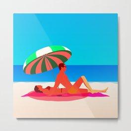 Beach Paradise Metal Print