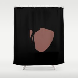 Minimal Kendrick Lamar Shower Curtain