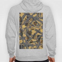 abstract print Hoody