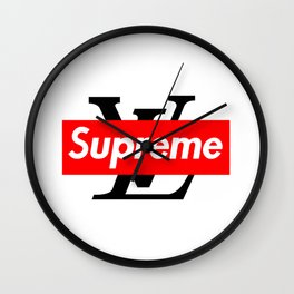 supreme-lv Wall Clock