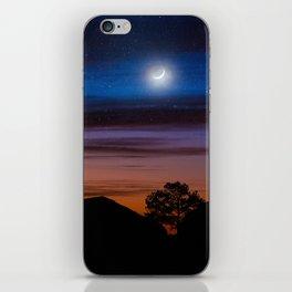 Big Bend Moon iPhone Skin