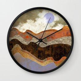Lavender Hills Wall Clock