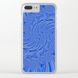 Fractal 86 Clear iPhone Case