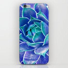 Suculenta Azul iPhone Skin