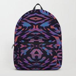 Flocked Arrow Tribe Violet Backpack