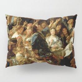 "Jacob Jordaens ""The Feast of the Bean King"" Pillow Sham"