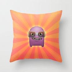 Grrrrr Throw Pillow