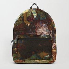 Lady of Shalott By  Edward Robert Hughes Backpack