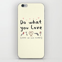 Motivational Poster iPhone Skin