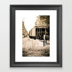 Tracks of Time Framed Art Print