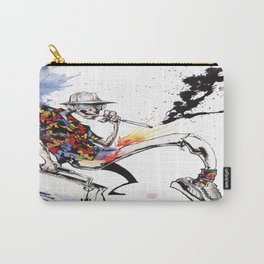 Hunter S Thompson by BINDU Carry-All Pouch