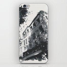 Street scene in sunny Provence iPhone Skin