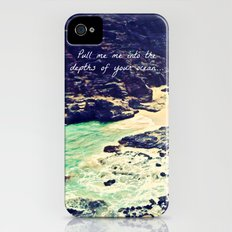 Pull Me Into Your Depths iPhone (4, 4s) Slim Case