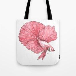 Fancy Betta Tote Bag