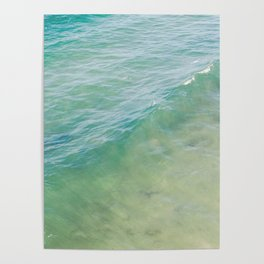 Peaceful Waves Poster