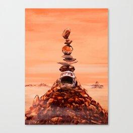 in memoriam. Mars_ Canvas Print
