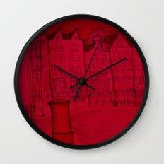 hanz place (london) Wall Clock