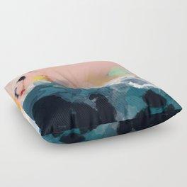 la mer Floor Pillow