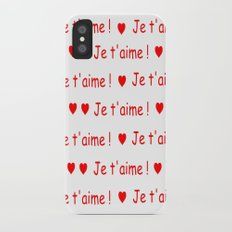 je t'aime ! 2 iPhone X Slim Case
