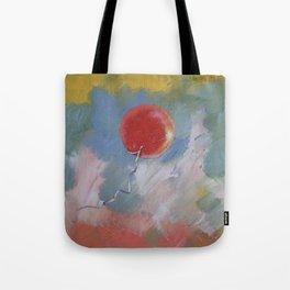 Goodbye Red Balloon Tote Bag