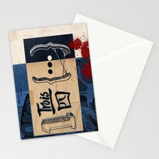 one and three quarters of things Stationery Cards