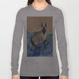 Siamese Napping Long Sleeve T-shirt