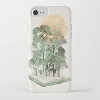 david iPhone & iPod Cases featuring Jungle Book by David Fleck