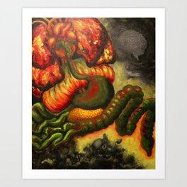 Anger Art Print