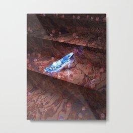 Cinderella's Little Glass Slipper Metal Print