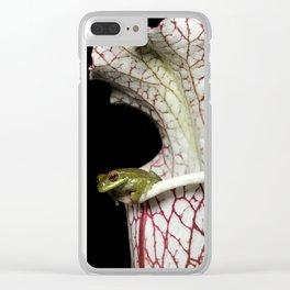 Sarracenia Home Clear iPhone Case