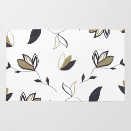 Tree Of Life - Floral & Foliage Pattern #1 #drawing #decor #art #society6 Rug
