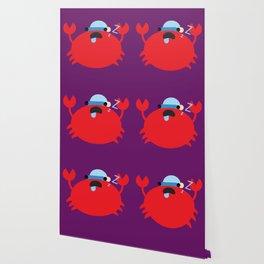 Sleepy Crab Wallpaper