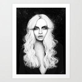 Stareyed Art Print