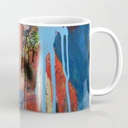 Abstract Mixed Media Compositon V.127 Coffee Mug