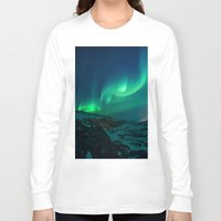 aurora Long Sleeve T-shirts featuring Aurora by StayWild