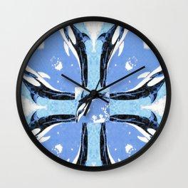 Orca Reflection Wall Clock