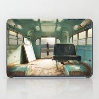 door iPad Cases featuring Emergency Door by Rachel Bellinsky