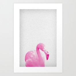 Flamingo 03 Art Print