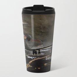 Wind 360 20 kts clear to land Travel Mug