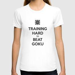 Training Hard to Beat Goku T-shirt
