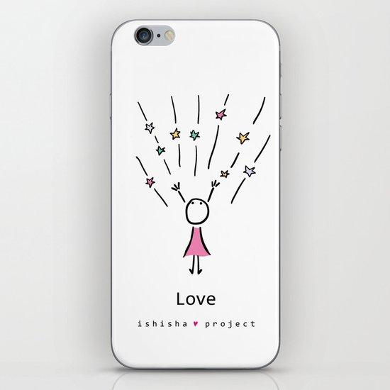 LOVE by ISHISHA PROJECT iPhone Skin